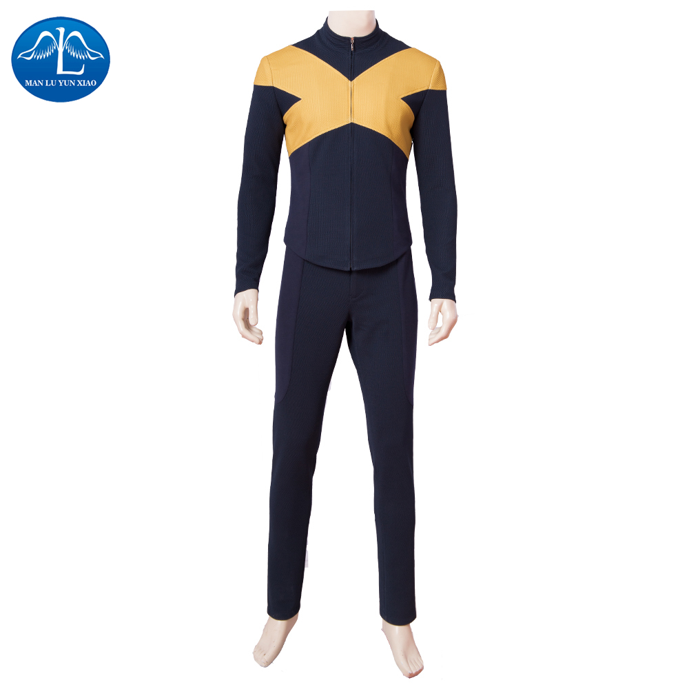 MANLUYUNXIAO Dark Phoenix Cospaly Halloween Costumes for Man The X Man Cyclops Outfit Scott Summers Superhero Suits Custom Made in Movie TV costumes from Novelty Special Use