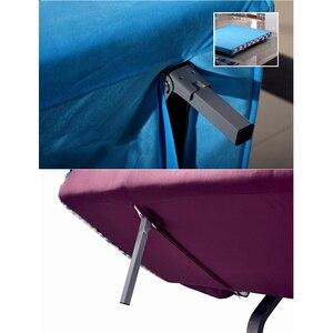 Image 5 - 2Pcs מתקפל ספה מיטת שולחן שולחן ספסל למעלה בר רגל רגליים שחור RV להסתיר מתקפל נסתר רגליים