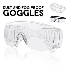 Protective Eye Fully Enclosed Lens Goggles