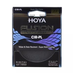 Image 1 - Hoya FUSION ANTISTATIC CPL Slim Filter 82mm 77mm 72mm 67mm 62mm 58mm 55m 52mm 49mm Polarizing / Polarizer CIR PL For Camera Lens