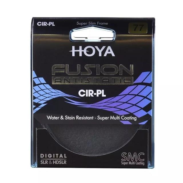 Hoya FUSIONป้องกันไฟฟ้าสถิตย์CPL 82มม.77มม72มม.67มม.62มม.58มม.55M 52มม.49มม.Polarizing/Polarizer CIR PLสำหรับเลนส์กล้อง