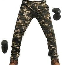 Мужские и wo Мужские штаны, мотоциклетные брюки, джинсы, армейский зеленый, армейские, с подкладкой, анти-осенние, высокоэластичные