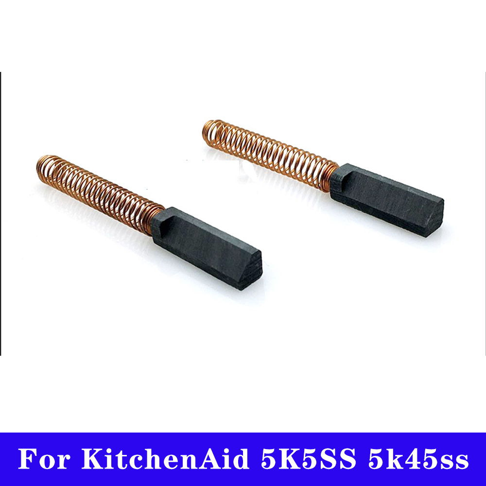 2pcs Blender Motor Carbon brush for KitchenAid 5K5SS 5k45ss K5 K45 Accessories