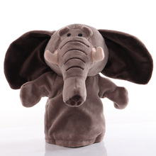 Hand-Puppet Baby Plush-Toys Animal Story Educational for Children Gifts 1pcs 25cm Pretend-Playing-Dolls