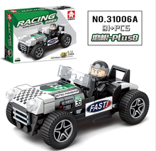 Baby Car City Building Blocks Compatible Legoed Toys City Building Blocks Racing Car Vehicle Toys Block Toys For Children yile 006 caterham seven 620r building blocks model compatible 21307 racing car toys for children