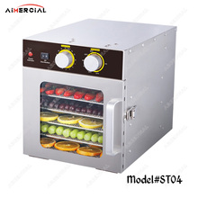 ST04 electric food dryer dehydrator commercial Snacks Dehydration Dryer stainless steel Fruit Vegetable Herb Meat Drying Machine commercial large size food drying machine fruit dehydrator 32 layers food dehydration equipment st 32