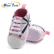 Hot Sell Baby Moccasins Infant Anti-slip PU Leather First Walker Soft Soled Newb