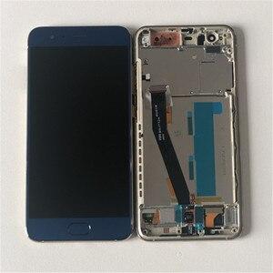 Image 5 - شاشة ام أند سين أصلية 5.15 بوصة لهاتف شاومي 6 MI 6 Mi6 M6 MI6 مع شاشة عرض LCD ببصمة الإصبع مع إطار + لوحة لمس محول رقمي لشاشة