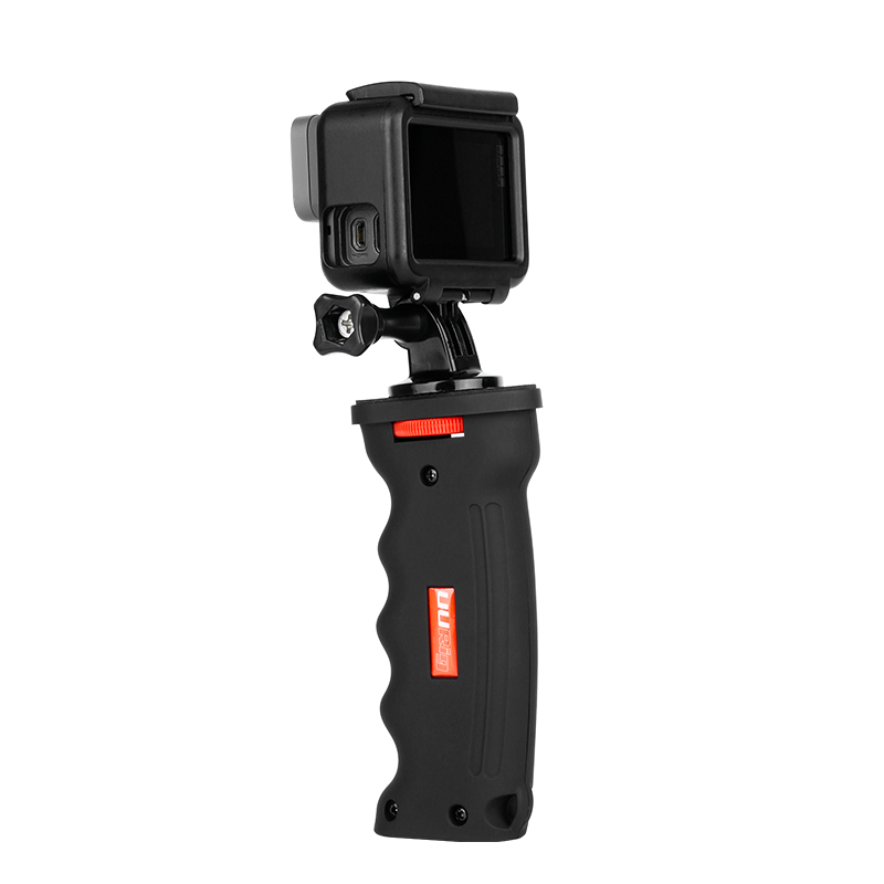 UURIG R003 Anti-Shock Hand Grip Stabilizer Universal For Gopro  Action Camera DSLR SLR Camera Smartphone 1/4 Screw Vlog Handle