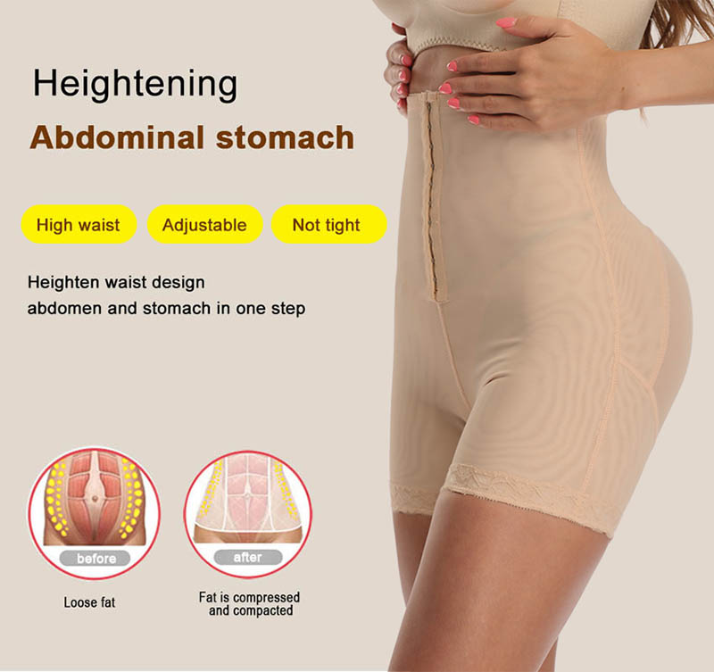 Image 4 - High Waist Control Panties for Belly Recovery Shaper Butt Lifter Slimming Underwear Postpartum Hip Enhancer Shapewear Plus Size-in Control Panties from Underwear & Sleepwears