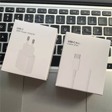 Original 18w usb c carregador para iphone 12 pro xr x xs max 8 plus 11 adaptador de carregamento rápido carregador de viagem da ue para apple 2m cabo