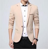 Zogaa 2019 New Spring Autumn Men's Suits Korean Youth Slim Cotton Small Suit Smart Casual Suit Male Blazer Jacket Suit Men Hot