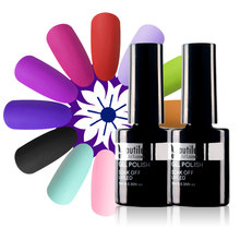 Beautilux Fluwelen Matte Top Jas Rubber Afwerking Losweken Gel Nagellak Top Coat UV LED Gels Nagellak Lacquer nagels Art 10ml(China)