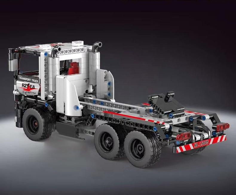 MOULD KING 15005 Technic The Construction remote control truck Building Block  (532PCS) 2