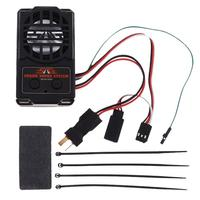 2 in 1 Engine Sound Simulator System Audio Sound with Loudspeaker for RC Car