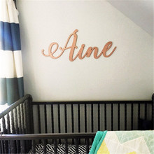Custom Baby Girl Nursery Name Sign Wooden/Acrylic Cut Personalized Baby