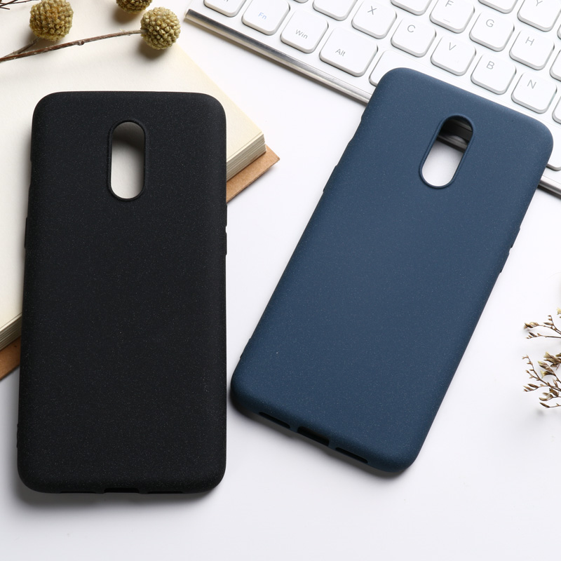 Silicone Phone Case For <font><b>Oneplus</b></font> 7 Pro 6T 6 5T <font><b>5</b></font> Case Cover For Nokia X6 2018 6.1 Plus 7.1 8 6 Matte TPU Protective Back Shell image
