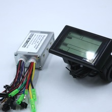 Motor-Controller Lcd-Display Brushless Greentime 36v SW900 250W 48V DC One-Set