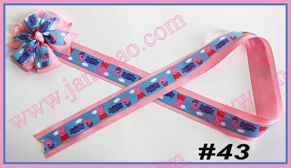 90 шт Разноцветные 36 ''модные банты для банты из бутика фанки банты