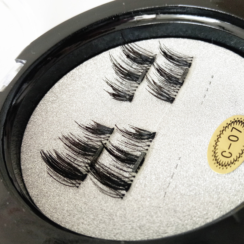 <font><b>Shozy</b></font> <font><b>Magnetic</b></font> <font><b>Eyelashes</b></font> With 3 Pairs Magnets Handmade 3D <font><b>Magnetic</b></font> Lashes Natural False <font><b>Eyelashes</b></font> Magnet Lashes With Gift Box image