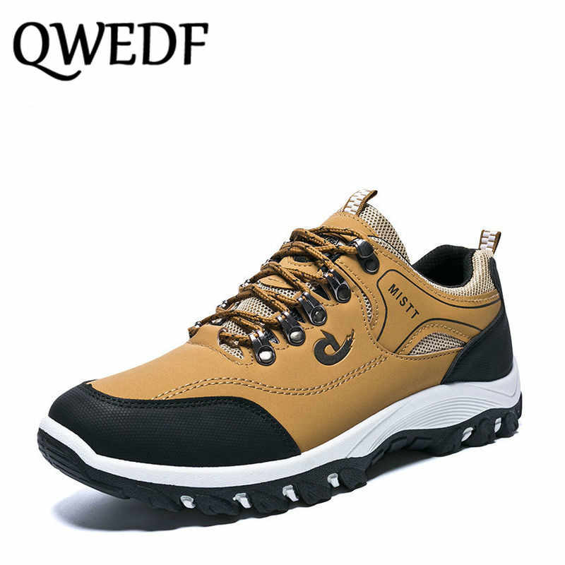QWEDF New 2018 thick soled wear-resisting Spring Summer Male Brand Fashion Sneaker Canvas Shoes Men Non-slip Casual Shoes XX-044