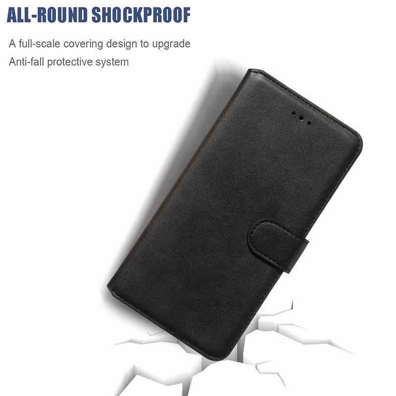 לסמסונג גלקסי A5 2017 מקרה עור ארנק כרטיס כיסוי על סמסונג A5 2017 A520 Etui עמיד הלם רטרו מגן