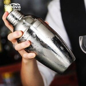 Коктейльный шейкер из нержавеющей стали, миксер, Бостонский шейкер для бостонских коктейлей, инструменты для бара 550 мл/750 мл