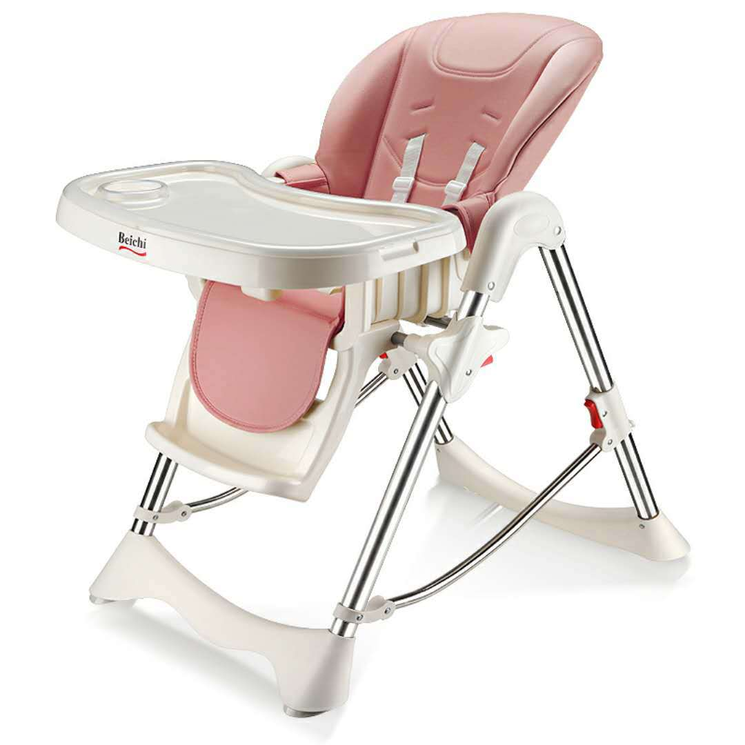 634 Baby Dining Chair Children Chair Multi-functional Cart Foldable Portable Infant Chair Eating Dining Tables And Chairs Seat