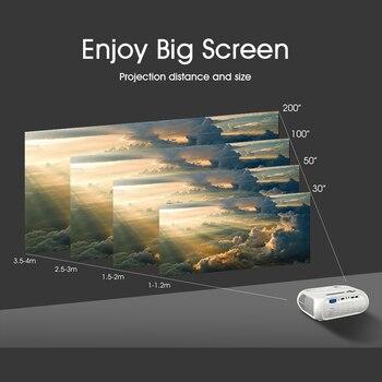 ALSTON S5 HD светодиодный проектор 3800 люменов поддержка 1080p HDMI USB Портативный кинотеатр проектор с подарком, бесплатно алиэкспресс каталог