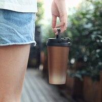12 cores 500ml garrafa térmica de café copo garrafa térmica de aço inoxidável caneca de vácuo copos de café caneca de viagem hidro garrafa de água|Garrafa térmica e frascos a vácuo| |  -