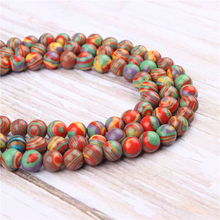 Wholesale Peacock Natural Stone Beads Round Beads Loose Beads For Making Diy Bracelet Necklace 4/6/8/10/12MM