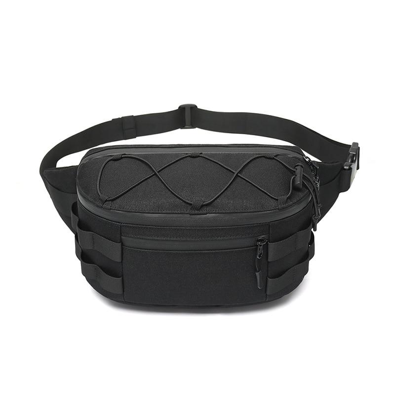 New Men's Purse Business Multi-functional Chest Bag Sport Waterproof One-shoulder Cross-body Bag Men Cross Border Hot Style