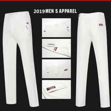 Новинка, Мужские штаны для гольфа, высокие Стрейчевые штаны, быстросохнущие тонкие спортивные мужские брюки для гольфа, повседневные штаны