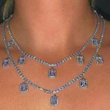 Женское ожерелье с подвеской flatfoosie золотистого и серебряного