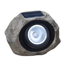 Solar Simulated Stone  Light LED Dimmable White Warm Outdoor Garden Lawn Decorative Spotlight