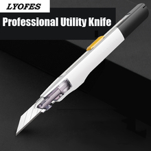 Box Cutter Utility Knife Professional Precision Stationery Knife Knives for Office Engraving Paper Safety Mini Work Art Knife