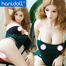 Hanidoll 158cm Silicone Sex Dolls For Men Realistic Mouth Vagina Adult Toys Metal Skeleton TPE Love Doll Real Pussy Ass