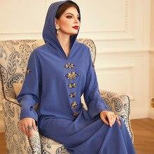 Abaya Dress Kaftan Muslim for Women Robe Musulman-De-Mode Djellaba Femme Hijab Turkey