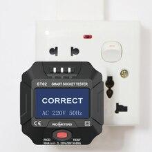 Line-Plug Voltage-Tester Electric-Circuit-Detector Digital Ground Zero Polarity-Phase-Pro