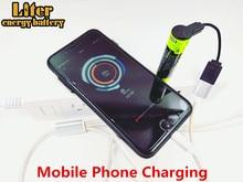 Charge batterie batterie externe USB 5000M batterie dordinateur portable 18650 3.7V 3500mAh Intelligence Li ion batterie Rechargeable 4 indicateur LED