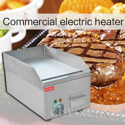 220V/2000W Multifunction Fried steak Fried meat Electric flat cooker Commercial stainless steel Hand cake barbecue Electric oven