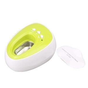 Ultra sonic cleaner mini sonic onda lente de contato ultra sonic cleaner para lente contato