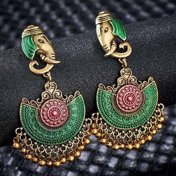 Fashion Metal Dangle Earrings Earrings Jewelry Women Jewelry Metal Color: S01128