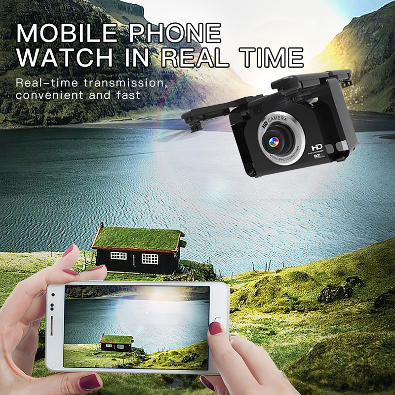 L600 1080P Video Full HD Wide Angle Camera RC Drone FPV WIFI Foldable One Button Return Quadcopter Optical Flow Positioning