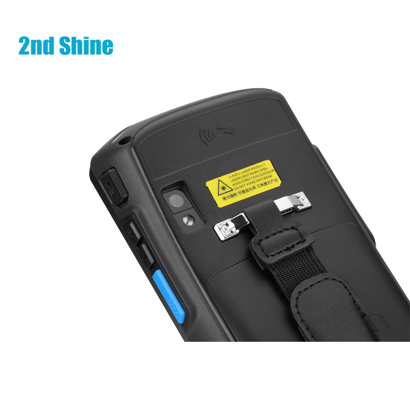 2.4G Wireless QR Barcode Scanner Black 13.56M// 125Khz Frequency Band Mini 1D//QR Barcode//Screen Code Scanner//IC Card RFID Reader for Windows//iOS//Android System Computer//Tablet//Mobile Phone