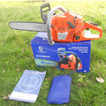 Professional Petrol Chain Saw Heavy Duty Chainsaw With 20Blade Factory Selling Gasoline CHAINSAW 65CC 3.4kw Chain Saw