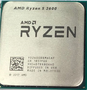 AMD Ryzen 5 2600 R5 2600 3.4 GHz Six-Core Twelve-Core CPU Processor YD2600BBM6IAF Socket AM4