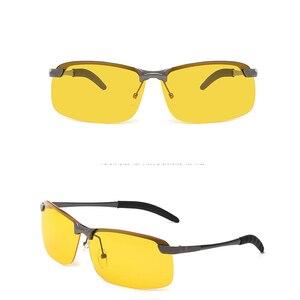Image 3 - แว่นตาSunสำหรับชายNight Visionแว่นตากันแดดผู้ชายผู้หญิงแว่นตาแว่นตาUV400 Sunแว่นตาDriver Nightขับรถแว่นตา