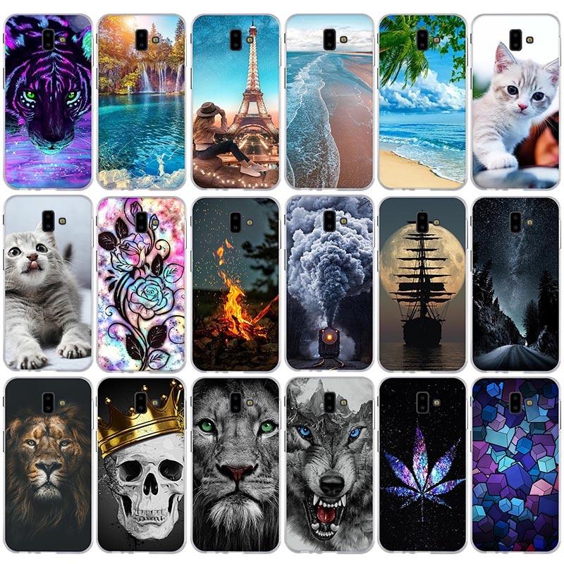 For Samsung Galaxy J6 Plus 2018 J610F J610 SM-J610F Coque 6.0