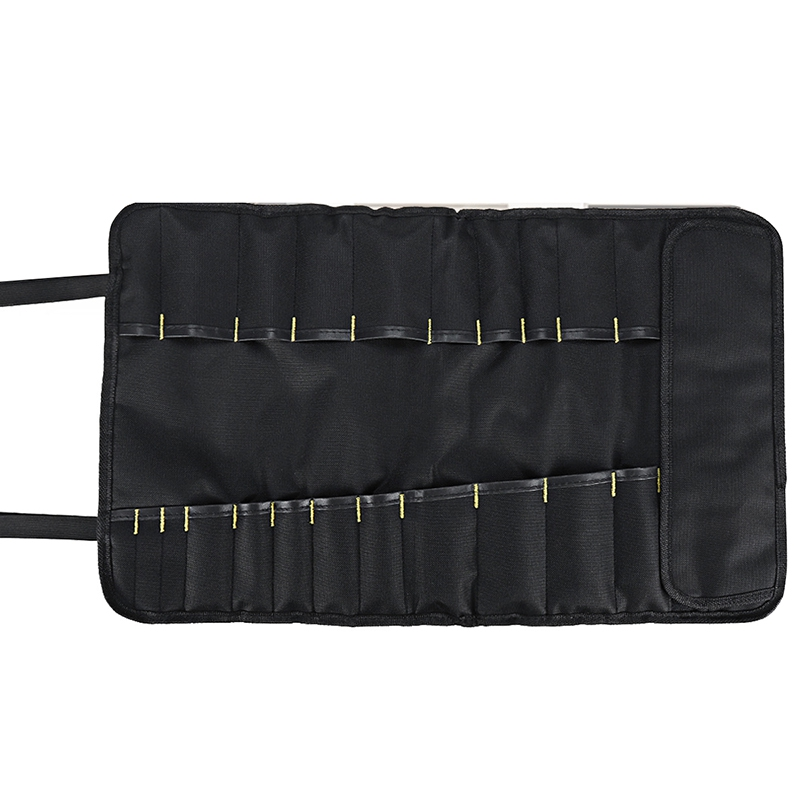 Multifunctional Waterproof Oxford Cloth Folding Roll Bags Portable Toolkit Storage Tool Bag Chef Cutter Storage Bag Organizer Po
